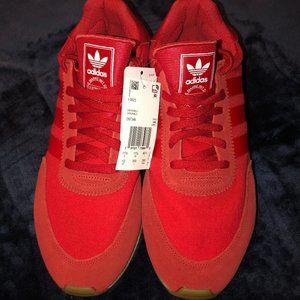 Adidas Originals Iniki I-5923 Red Runner Sneakers